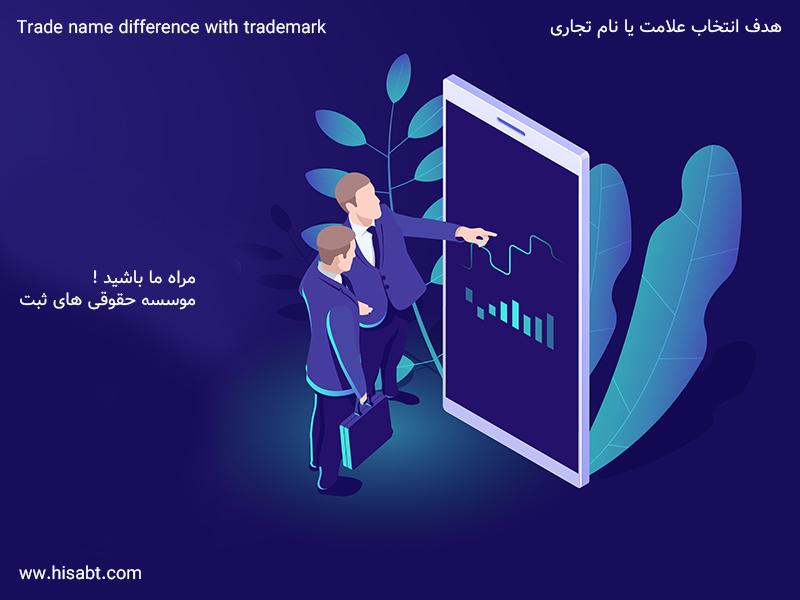 تفاوت اسم تجارتی با علامت تجارتی